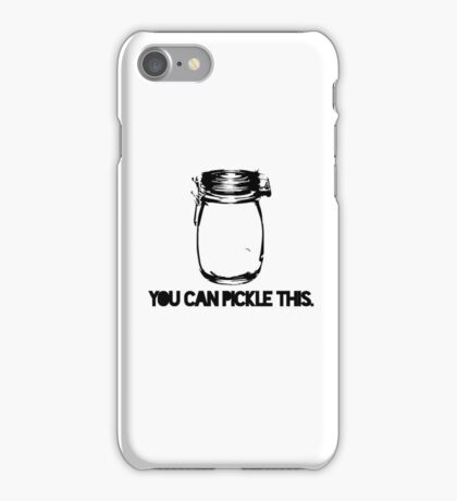 Pickle This. iPhone Case/Skin