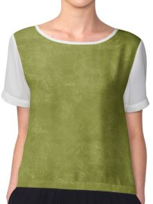 Woodbine Oil Pastel Color Accent Chiffon Top