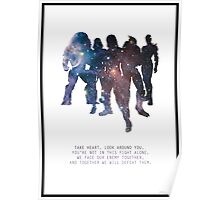 Mass Effect Squad Poster