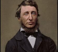 Henry David Thoreau, 1856 by Dana Keller