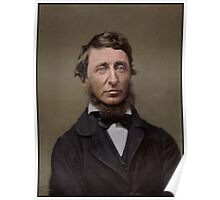 Henry David Thoreau, 1856 Poster