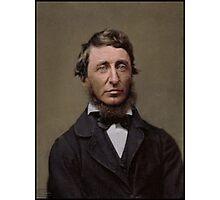 Henry David Thoreau, 1856 Photographic Print