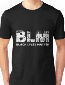 BLM Black Lives Matter W Unisex T-Shirt