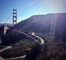 The golden gate view by courtquinn
