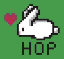Pixel hop Kids Tee
