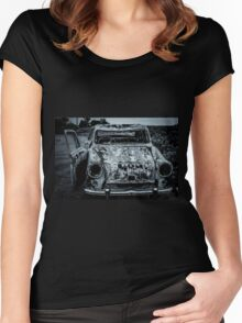 Rustic Car Women's Fitted Scoop T-Shirt