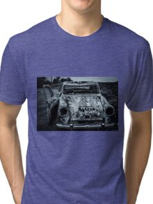 Rustic Car Tri-blend T-Shirt