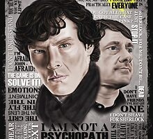 Sherlock TV Series Favourite Quotes by danielctuck