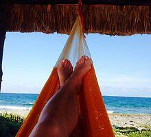Hammock in paradise by Jenneeree