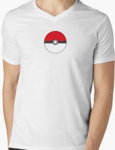 POKEMON Mens V-Neck T-Shirt