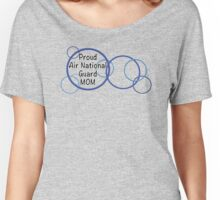 Proud Air National Guard mom Women's Relaxed Fit T-Shirt