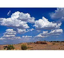 Clouds Over La Mesa Photographic Print