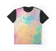 Paisley Watercolor Vintage Floral Pattern Graphic T-Shirt
