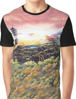 Bell Tower Graphic T-Shirt