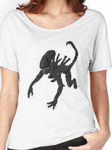 Alien Xenomorph crawl Women's Relaxed Fit T-Shirt