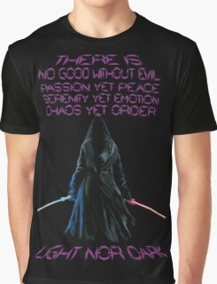 The Gray Jedi  Graphic T-Shirt