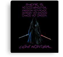 The Gray Jedi  Canvas Print