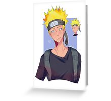 Naruto Shippuden Greeting Card