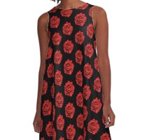 ROSE-BEAUTY OF THE ROSE A-Line Dress