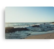 surfing bliss Canvas Print