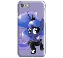 Luna in a scarf iPhone Case/Skin