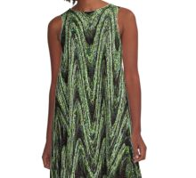 THE LAIR-SLEEPING DRAGONS A-Line Dress