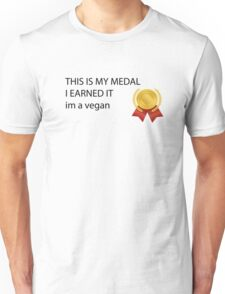 im a vegan Unisex T-Shirt