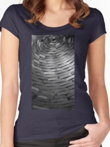 Wood Sculpture Women's Fitted Scoop T-Shirt