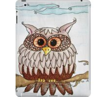 Earth Day Owl iPad Case/Skin