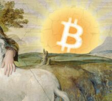 Bitcoin Unicorn Sticker