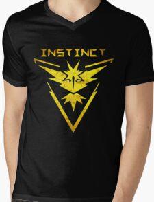 Team Instinct Emblem Mens V-Neck T-Shirt