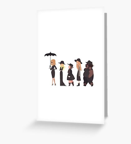 American Horror Story Coven Greeting Card