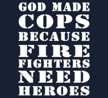 god made cops wht by Glamfoxx