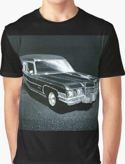 1971 Cadillac Hearse Graphic T-Shirt