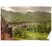 Glenfinian Viaduct Poster