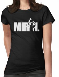 Mirin. (version 2 white) Womens Fitted T-Shirt