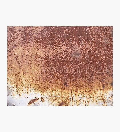 Rusty surface Photographic Print