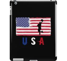 USA Basketball 2016 competition hoops funny t-shirt iPad Case/Skin