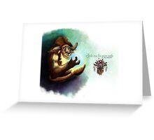 Tauren Greeting Card