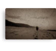 Ghostly appearance Canvas Print