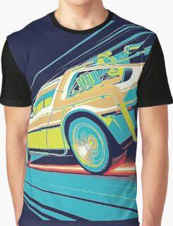 DeLorean- Back to the Future Graphic T-Shirt