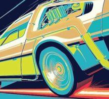 DeLorean- Back to the Future Sticker
