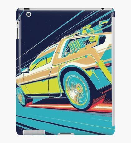 DeLorean- Back to the Future iPad Case/Skin