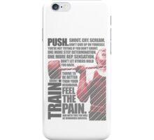 Train and Discipline iPhone Case/Skin