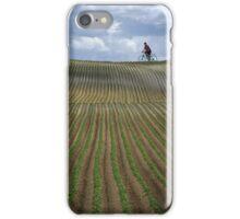 Stripe field iPhone Case/Skin
