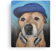 Music Dog Canvas Print