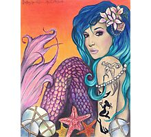 Mermaid of the Carribean Photographic Print