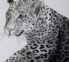 On Alert ........  pencil art by sandysartstudio