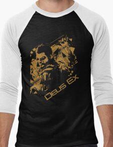 Deus ex 2 Men's Baseball ¾ T-Shirt