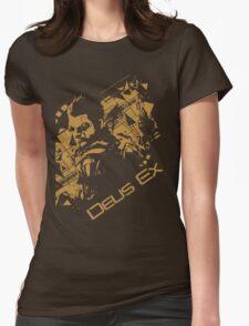 Deus ex 2 Womens Fitted T-Shirt